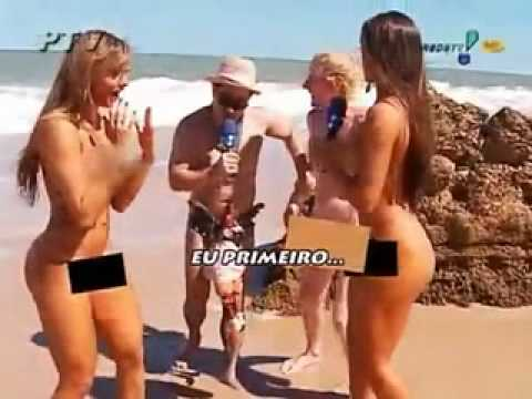 Nicole Bahls Juliana Salimeni Praia De Nudismo